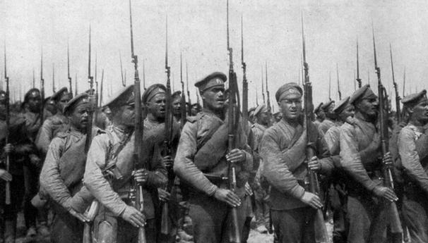 Солдаты русской армии